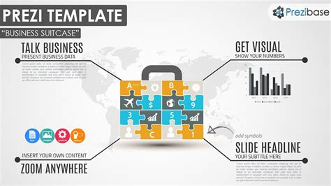 prezi templates for business business puzzle jigsaw diagram prezi template prezi