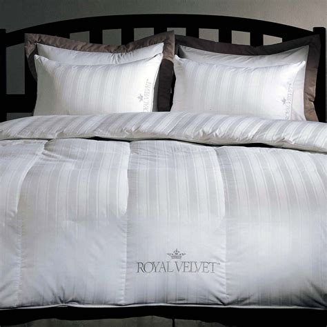 royal velvet down comforter royal velvet heritage down comforter