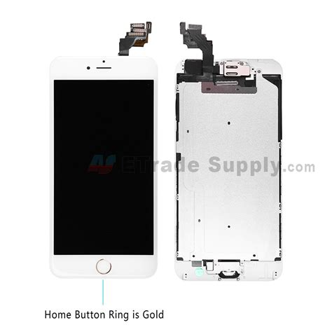 Lcd Iphone 6 S Plus apple iphone 6 plus lcd and digitizer assembly gold etrade supply