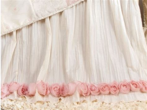 bed skirts for baby cribs crib bed skirt cozy nursery
