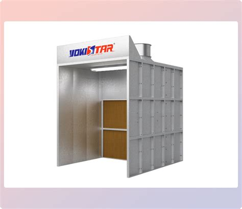spray painting booth design ys of2 open front industrial spray booth industrial
