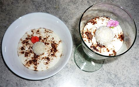 quark nachtisch raffaello quark nachtisch rezept mit bild kingkiri