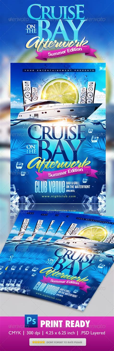 Summer Boat Cruise Party Flyer Projects To Try Pinterest Party Flyer Flyer Template And Cruise Flyer Template Free