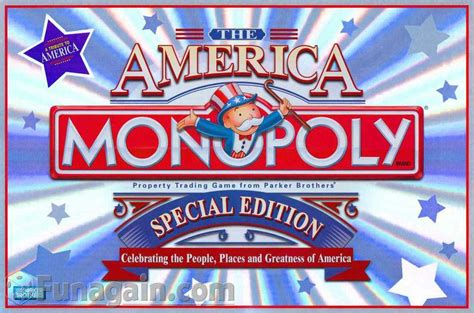 p s from us edition america monopoly special edition monopoly special