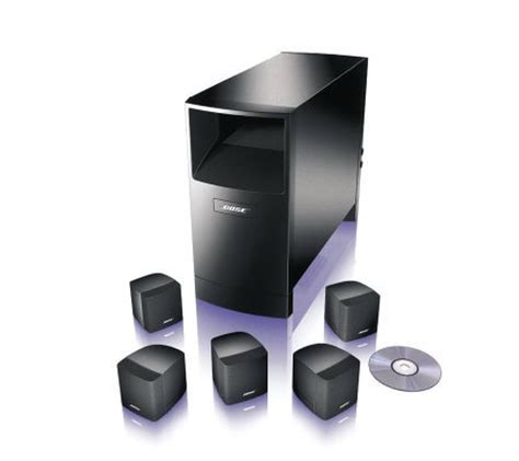bose acoustimass  home theater speaker system page