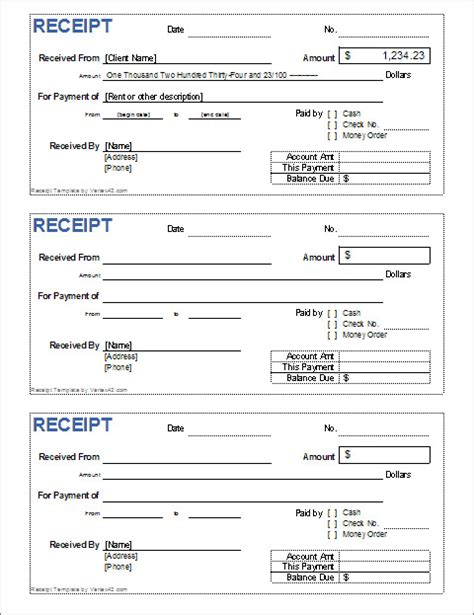 check receipt template word blank cashiers check template templates resume