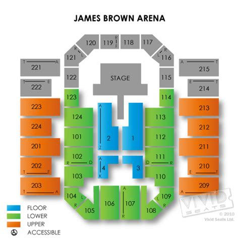 bell auditorium augusta seating brown arena tickets brown arena information