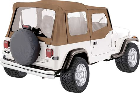 95 Jeep Wrangler Soft Top Rage Products Replacement Soft Top With Skins For 88 95