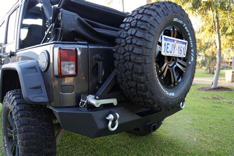 rock crawler bumpers jeep jeep jk wrangler rock crawler rear bumper with tyre carrier