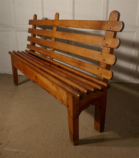 cherry wood bench seat french cherrywood bench seat antiques atlas