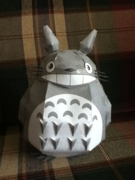 Papercraft For Sale - totoro papercraft for sale by kittydoescommissions on