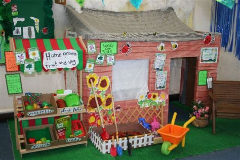 garden role play area classroom display photo photo