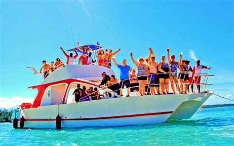 party boat tours party boat snorkel punta cana aventuras tours and