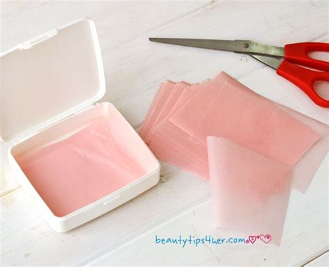 How To Make Rice Paper Sheets - diy rice paper absorbing sheets lifestyle