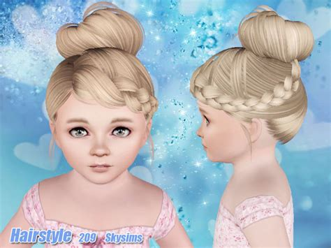 skysims hair child 204 sims 3 pinterest sims skysims hair toddler 209 i the sims 3 pinterest sims