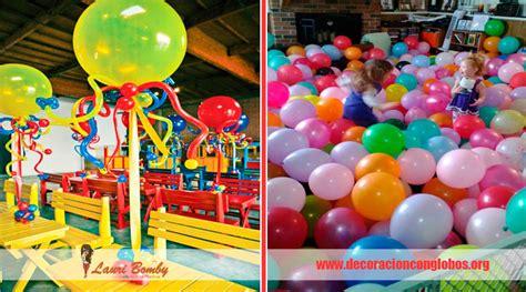decoracion globos fiestas infantiles 18 adornos y arreglos con globos ideas originales para tus