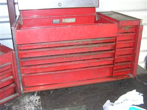 vintage snap on tool chests vintage snap on tools espotted