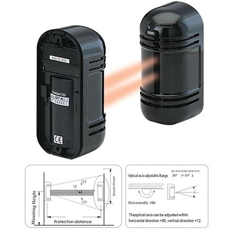 Beam Photoelectric Sensor By Isee dbpc946 dual beam photoelectric sensor