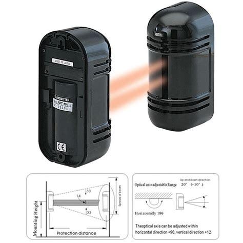 outdoor dual beam photoelectric sensor security alarm shop