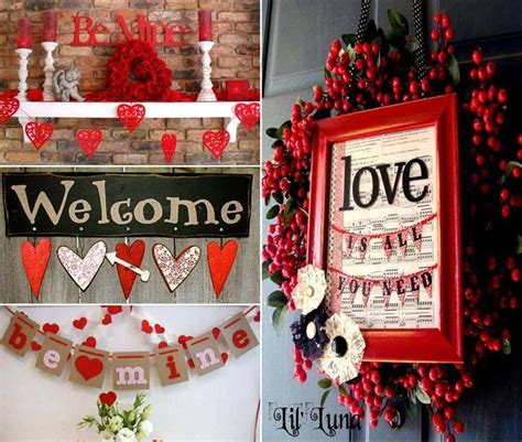 Valentines Home Decor valentines day interior decorations dmards
