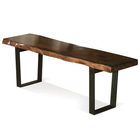 tables with bench furniture narrow mastercraft coffee table at stdibs bench