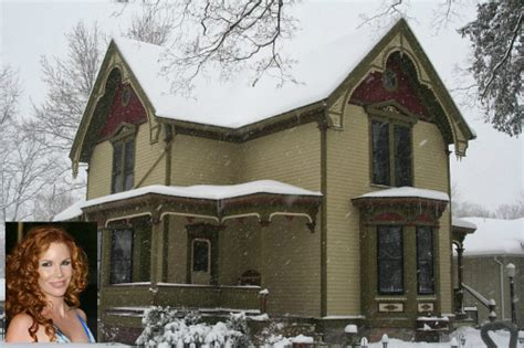 Small Mansion House Plans melissa gilbert s victorian in michigan amp more house news