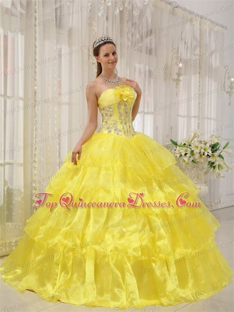 quinceanera themes yellow 5 kinds of yellow quinceanera dresses