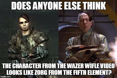 Fifth Element Meme - wazer wifle zorg comparison imgflip