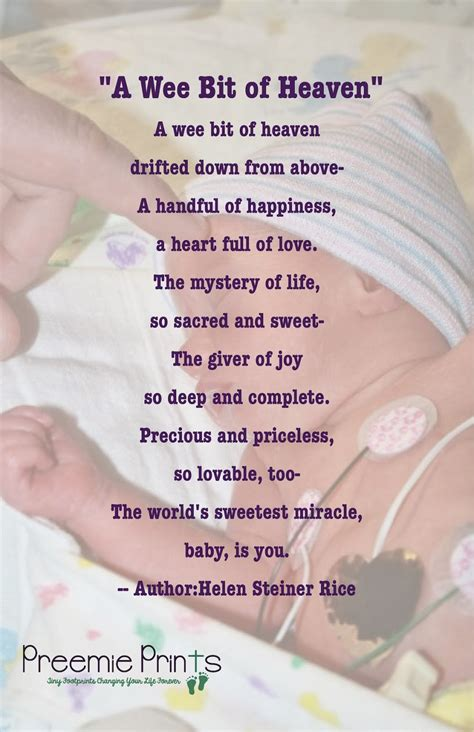 baby s s day poem preemie prints information poems prayers quotes