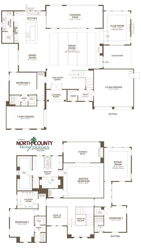 the summit floor plan the summit at san elijo floor plans county new homes