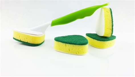 Handle Cleaning Sponge kitchen cleaning handle cleaning sponge brush