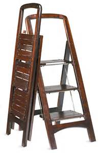 wooden stepladder traditional ladders and step stools