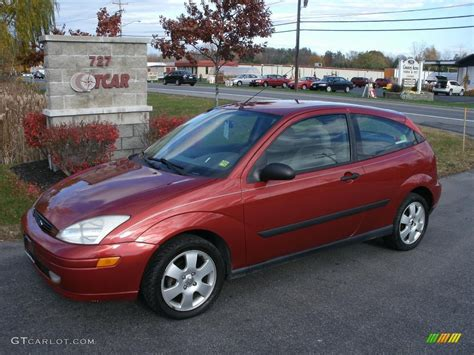 Ford Focus 2001 by 2001 Sangria Metallic Ford Focus Zx3 Coupe 38795030
