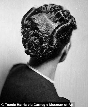 Hairstyles worn by African American women in the 40s, 50s and 60s   Daily Mail Online