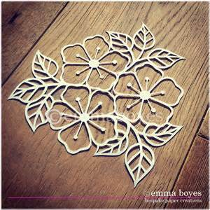 Paper Cutting Design Templates by Printable Pdf Paper Cutting Template Flowers And Leaves