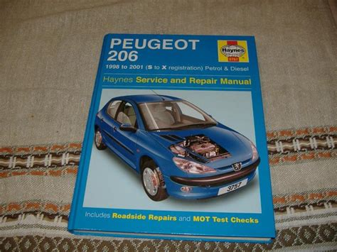 Peugeot 206 Haynes Manual For Sale In Uk View 51 Ads