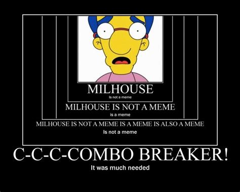 Milhouse Meme - image 8474 quot milhouse is not a meme quot know your meme