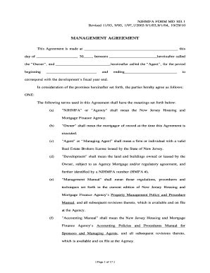 property management agreement doc forms and templates