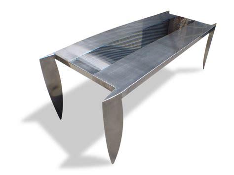 tavolo acciaio tavolo in acciaio dagger by ici et l 192