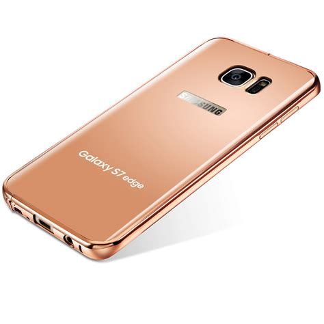 Samsung Galaxy J5 Edge For Samsung Galaxy S7 S7 Edge J5 J7 Aluminum Metal Bumper Mirror Back Cover Ebay
