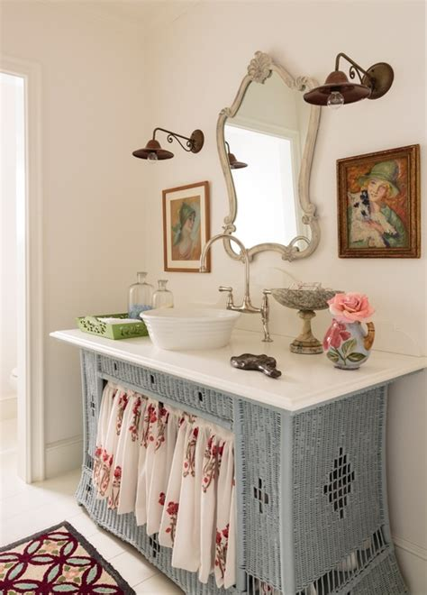 wicked bathroom eclectic home tour alison kandler beach cottage kelly elko