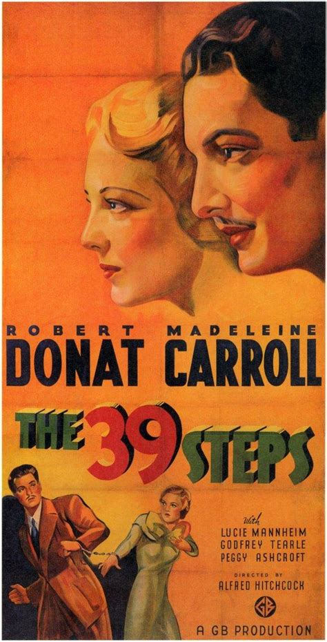 O P I I 39 alfred hitchcock the 39 steps reproduction poster