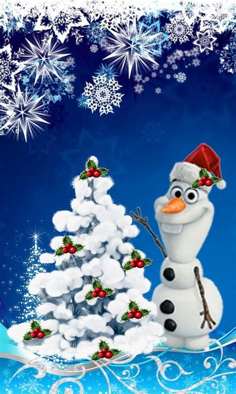 wallpaper christmas olaf christmas olaf wallpapers backgrounds wallpapersafari