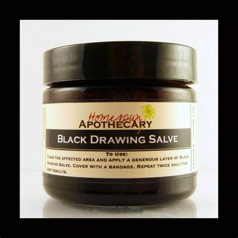 Will Drawing Salve Get Rid Of Blackheads