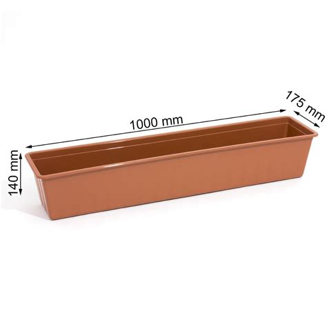 window box tray agro window box tray brackets 40 100 cm wide 5
