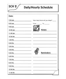 day schedule template day schedule template 7 free word excel pdf format