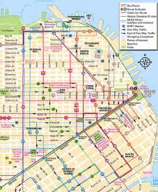 San Francisco Bus Map by Sf Cable Car Route Map Bing Images