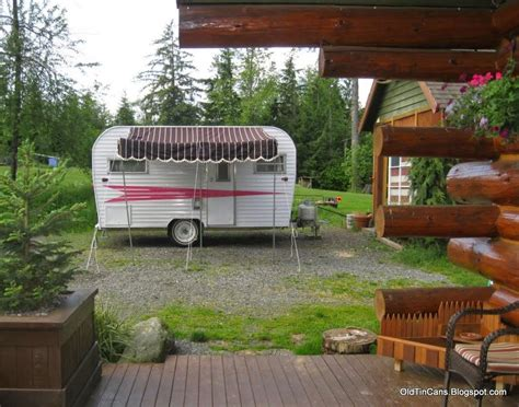 travel trailer awning fabric vintage travel trailers how to make a quot vintage quot travel