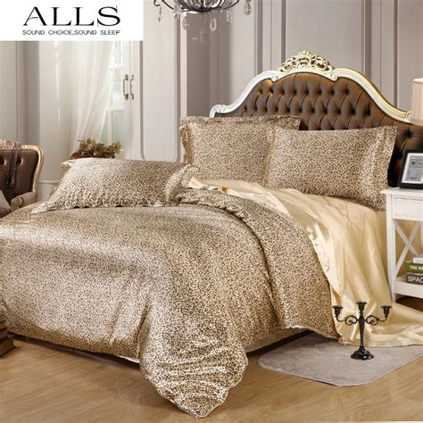 online get cheap leopard comforter set aliexpress com