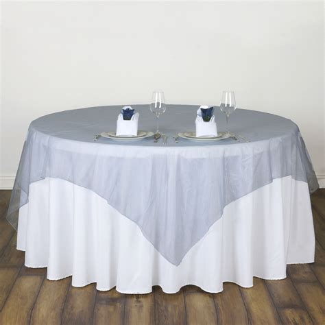 wedding table overlays 10 pc 72x72 quot sheer organza table overlays wedding